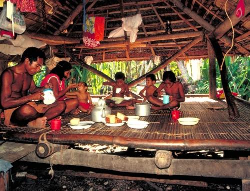 Sans murs à Kiribati