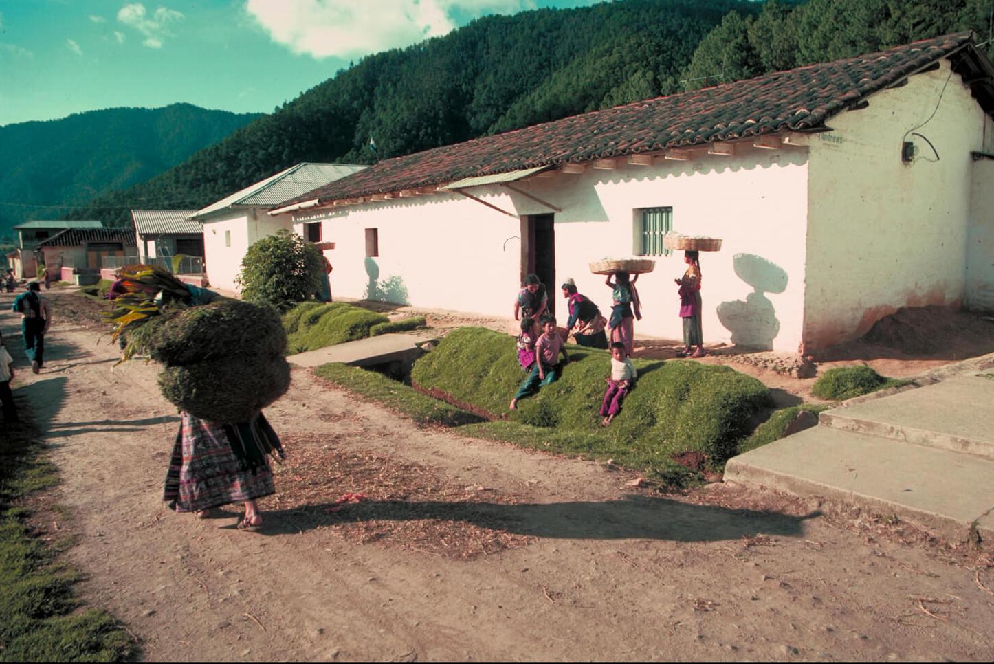 La maison de grand-mère est voisine – Guatemala